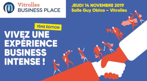 14/11/19 - Vitrolles Business Place : Inscription visiteurs